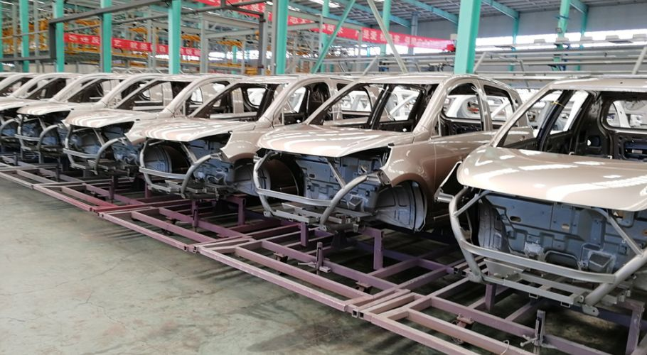Production line ASPP P6Plus cars